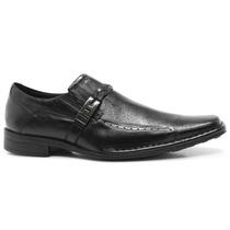Sapato Masculino Social Ferracini Couro Preto | Zariff