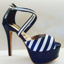 Luxuosa Sandália Salto 14cm Inspirada Em Modelos Importados