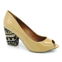 Sapato Feminino Cazzualen Retrô