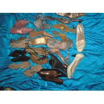 Lote 12 Pares De Sapatos Femininos Do Nº 37 Ao 39 Brechó