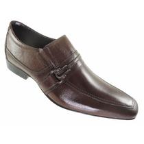 Sapato San-marino Conforto 100% Couro Bico Fino-7108