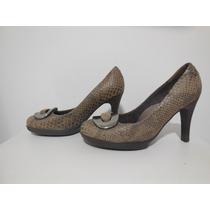 Scarpin Pep Toe Piccadilly Tam 34 - Sandália Bota Sapato