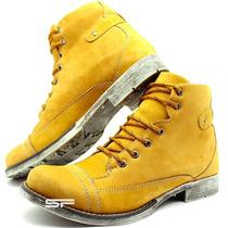 Sapato Botina Botinha Bota Coturno Adevnture Casual Exclusiv