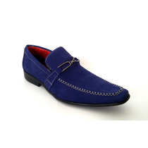 Sapato Masculino Social De Luxo Estilo Italiano Couro Nobuck