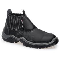Botina Calçado Sapato De Segurança Wo1001 Sem Bico De Aço