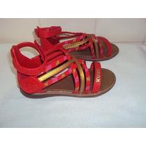 Sandália Para Menina Da Xuxa Vermelho Tamanho 29