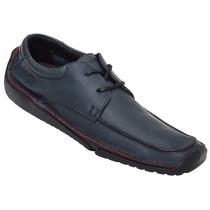 Sapato Masculino Em Couro Hayabusa Duna 60