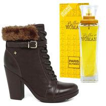 Bota Cravo E Canela 13690712a Gratis Perfume Importado