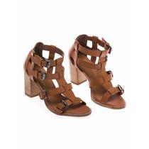 Sandália Salto Gladiadora Via Mia