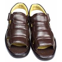 Sandálias Antistress Pelica Indicada P-diabéticos Masculina