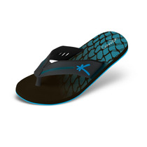 Sandália Kenner Trop Dash Preto/azul