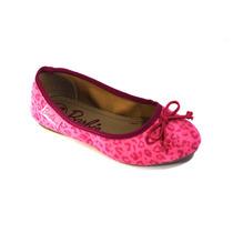 Sapatilha Infantil Menina Barbie Rosa Lançamento Grendene