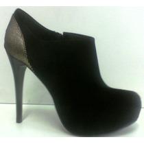 Open Boots Feminino Salto E Plataforma Bota