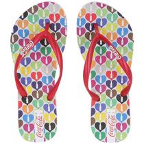 Chinelo Feminino Hearts Coke Shoes R$ 29,90 + Frete