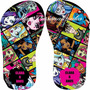 Chinelo Sandália Monster High Kit Com 10 Pares Aniversário