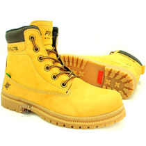 Bota Coturno Estilo Yellow Timberland Boots Marca Azimute !