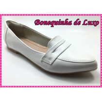 Sapato Branco Feminino Médica Enfermeira Esteticista
