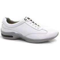 Sapato Masculino Pipper Branco Linha Médica | Zariff