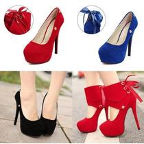 Sapato Feminino Salto Alto Scarpins Festas Casamento Eventos