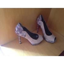 Lindo Sapato Feminino Tamanho 38 Da My Shoes.