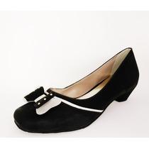 Sapato Feminino Salto Baixo - Confort