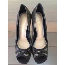 Sapato Sandália Feminino Cecconello Mostruário Somente N. 35