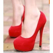 Sapato Feminino Salto Alto Festas Casamento Eventos 4 Cores