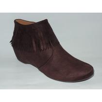 Bota Ankle Boot Vizzano Café 3043.104 (4468)