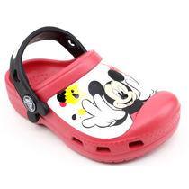 Crocs Xcc Mickey Kids Vermelho | Pixolé Calçados