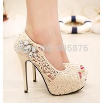 Sapato De Salto Feminino Importado A Pronta Entrega