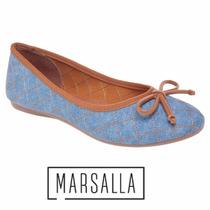 Sapatilha Marsalla Matelassê Jeans Grendene 42003
