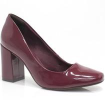 Sapato Ramarim Scarpin Verniz | Zariff