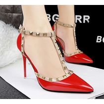 Sapato Importado Feminino Tiras