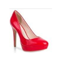 Sapato Scarpin Em Verniz 1/2 Pata Di Valentini (151.02772)