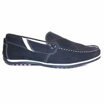 Mocassim Dockside Sapatênis Sapato Casual Couro Legítimo