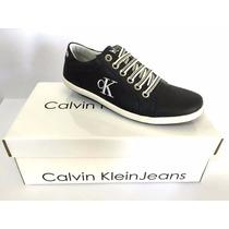 Tenis Calvin Klein Importado 100% Couro