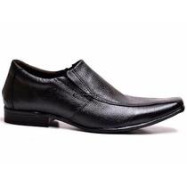 Sapato Masculino Social Em Couro Legitimo Na Cor Preto
