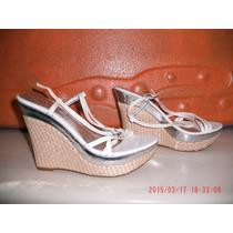 Lindo Sapato Anabela - Via Uno Tam: 36