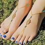 Sandália De Praia Mão De Fátima Moda Fashion - 1 Par
