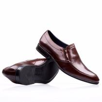 Sapato Social Em Couro Fascar Marrom