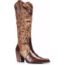 Bota Texana Feminina Anaconda Country Montaria Capelli Boots