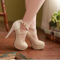 Sapatos Salto Alto Moda Sexy - Importado