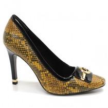 Sapato Feminino Scarpin Jorge Bischoff J40089001 Original+nf