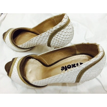 Sapato Peep Toe Pixole Nº37 Lindo!