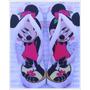 Chinelo Sandália Minnie Mini Minei Mouse Walt Disney