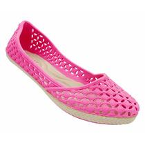 Sapatos Calcado Sandália Sapatilha Tipo Melissa Rosa - 2015