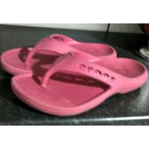 Chinelo Infantil Menina Crocs Baya Original Rosa Confortável
