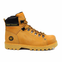Bota West Coast Worker Coturno Clássico Couro 5790