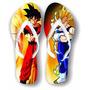 Chinelos Personalizados Dragon Ball Desenhos Séries E Filmes