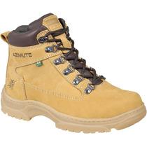 Coturno Trekking Mostarda Yellow Tamanho Grande 45 46 47 48